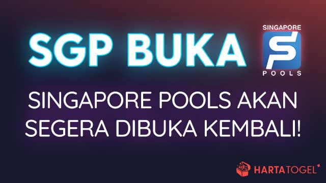 Singapore Pools Aktif Beroperasi Ulang